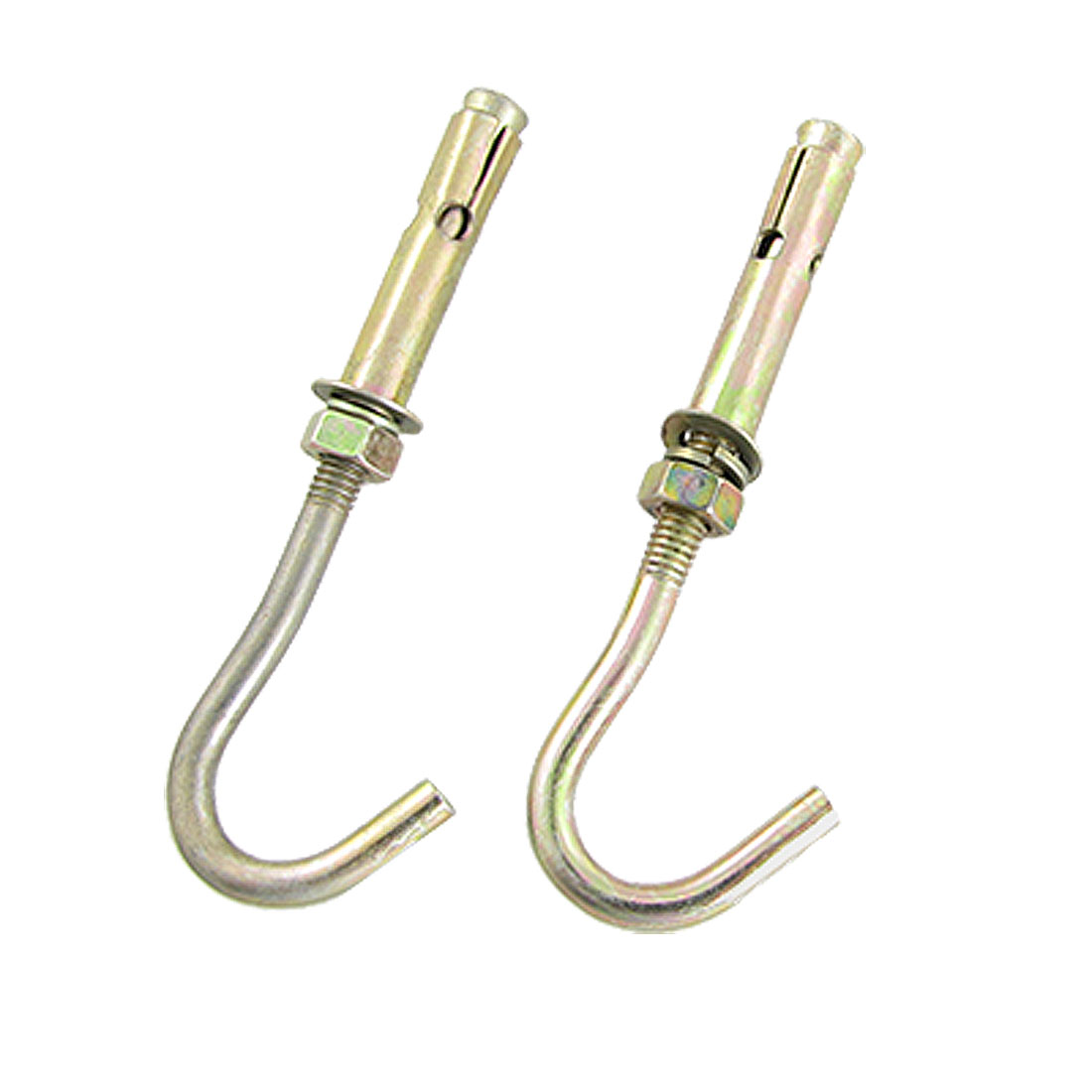 2 Pcs Hardware Expansion Anchor Bolt Open Cup Hooks M6