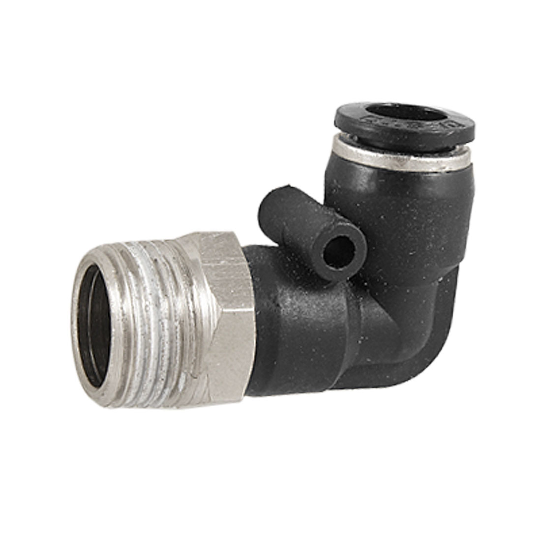 Male Thread to 8mm Elbow One Touch Fitting Quick Connector