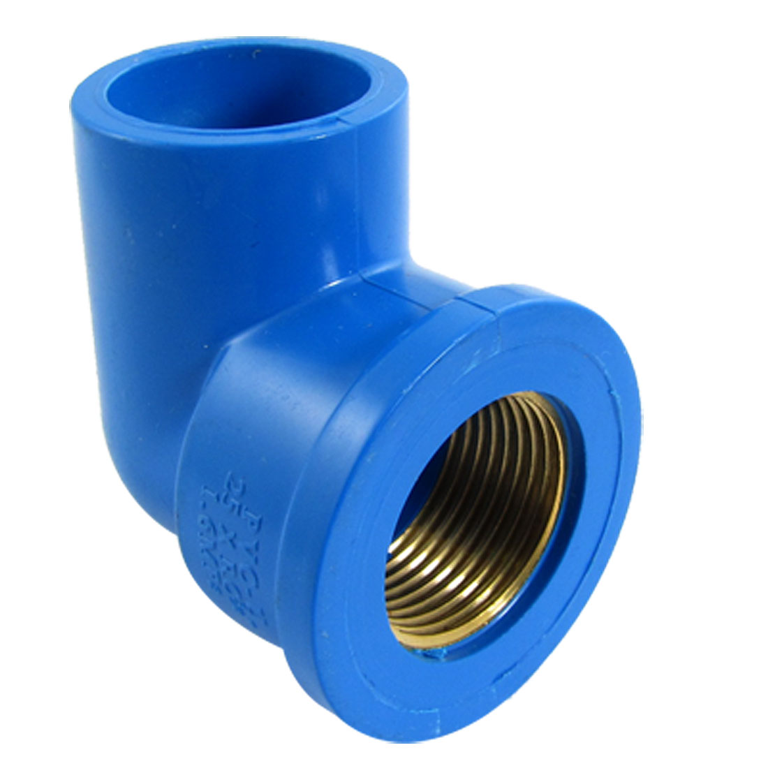 24mm Screw Female to Smooth Female PVC-U Water Pipe 90 Degree Adapter