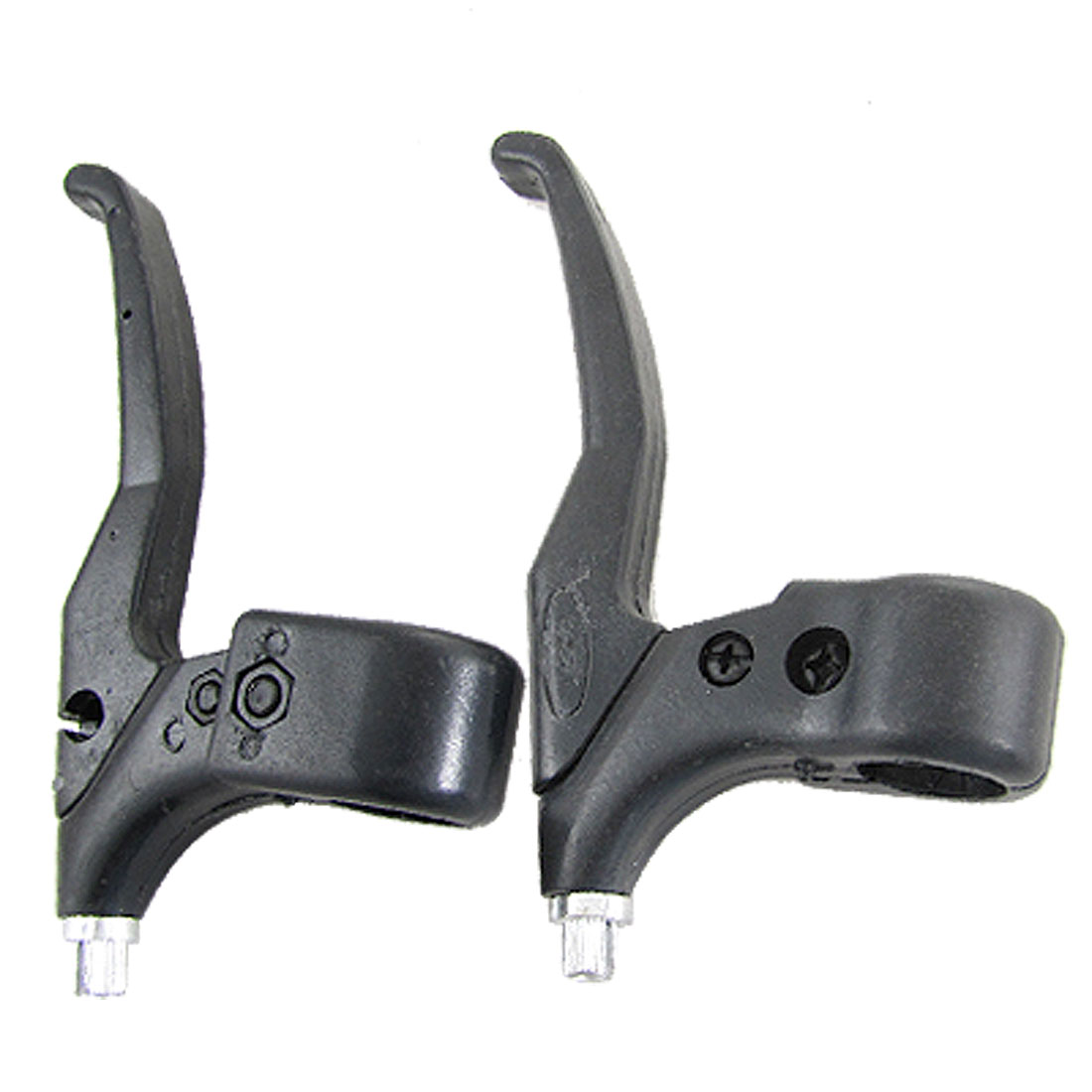 Replacement Bike Cycling Front Rear Brake Levers Black