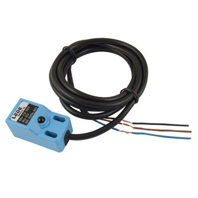 3-Wire 4mm Noncontact Inductive Proximity Sensor Switch Detector DC 10-30V NPN NO SN04-N