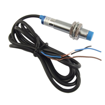DC 6-36V PNP NO 3-wire 4mm Cylindrical Inductive Proximity Sensor Approach Switch LJ12A3-4-Z/BY