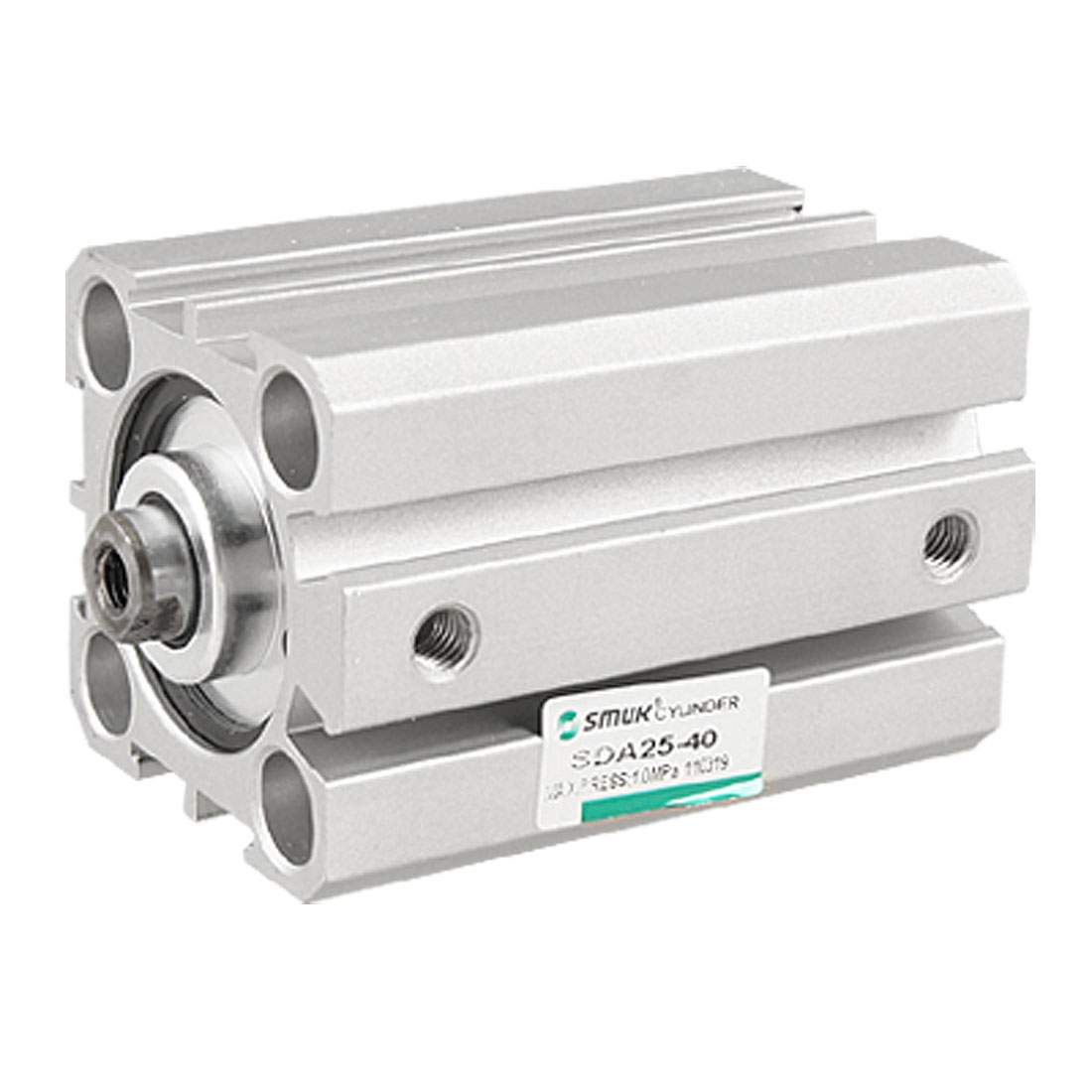 SDA 25x40 Pneumatic Double Action 25mm Bore 40mm Stroke Thin Air Cylinder