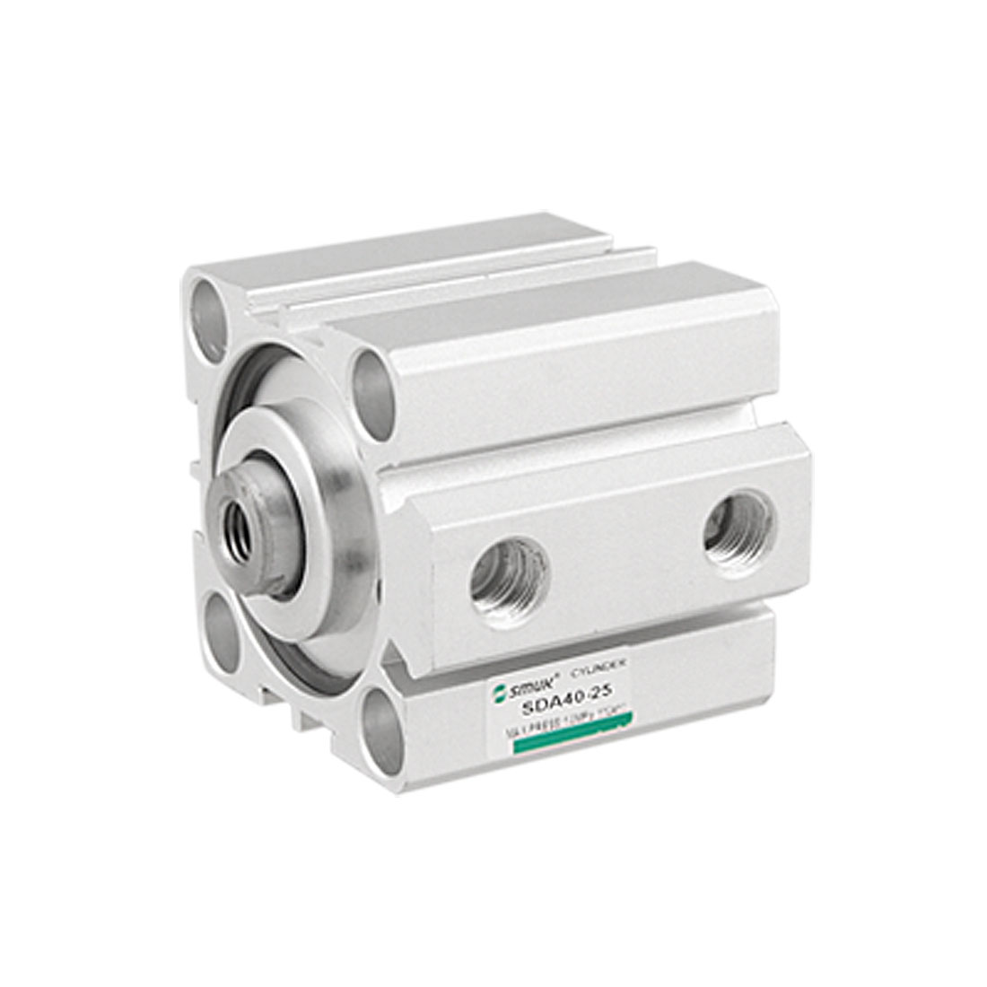 Single Rod 40mm Bore 25mm Stroke Pneumatic Air Cylinder
