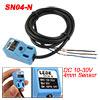 4mm Noncontact Inductive Proximity Sensor Switch Detector DC 10-30V NPN NO SN04-N