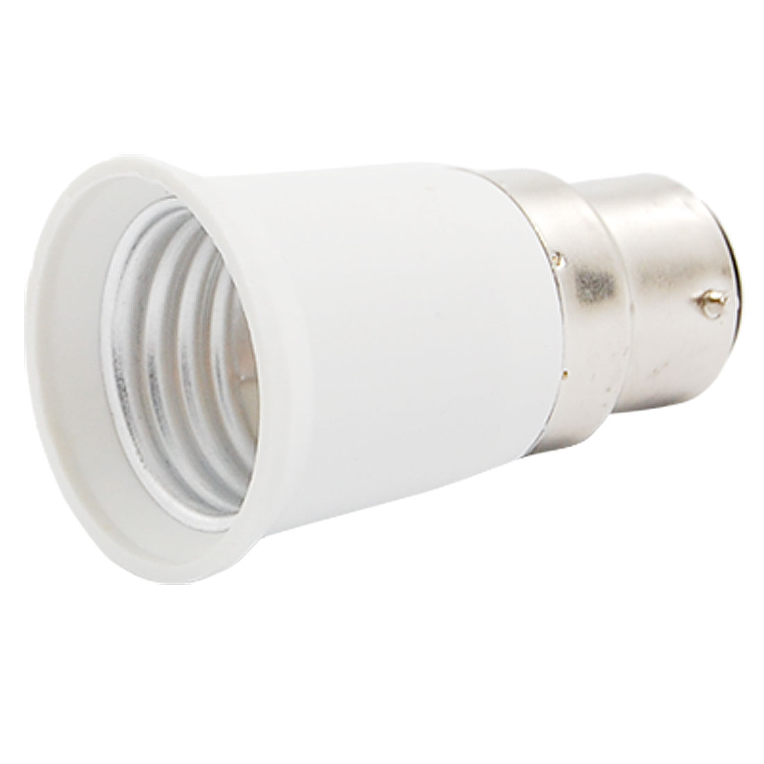 B22 to E27 Base LED Light Lamp Bulb Holder Adapter Converter