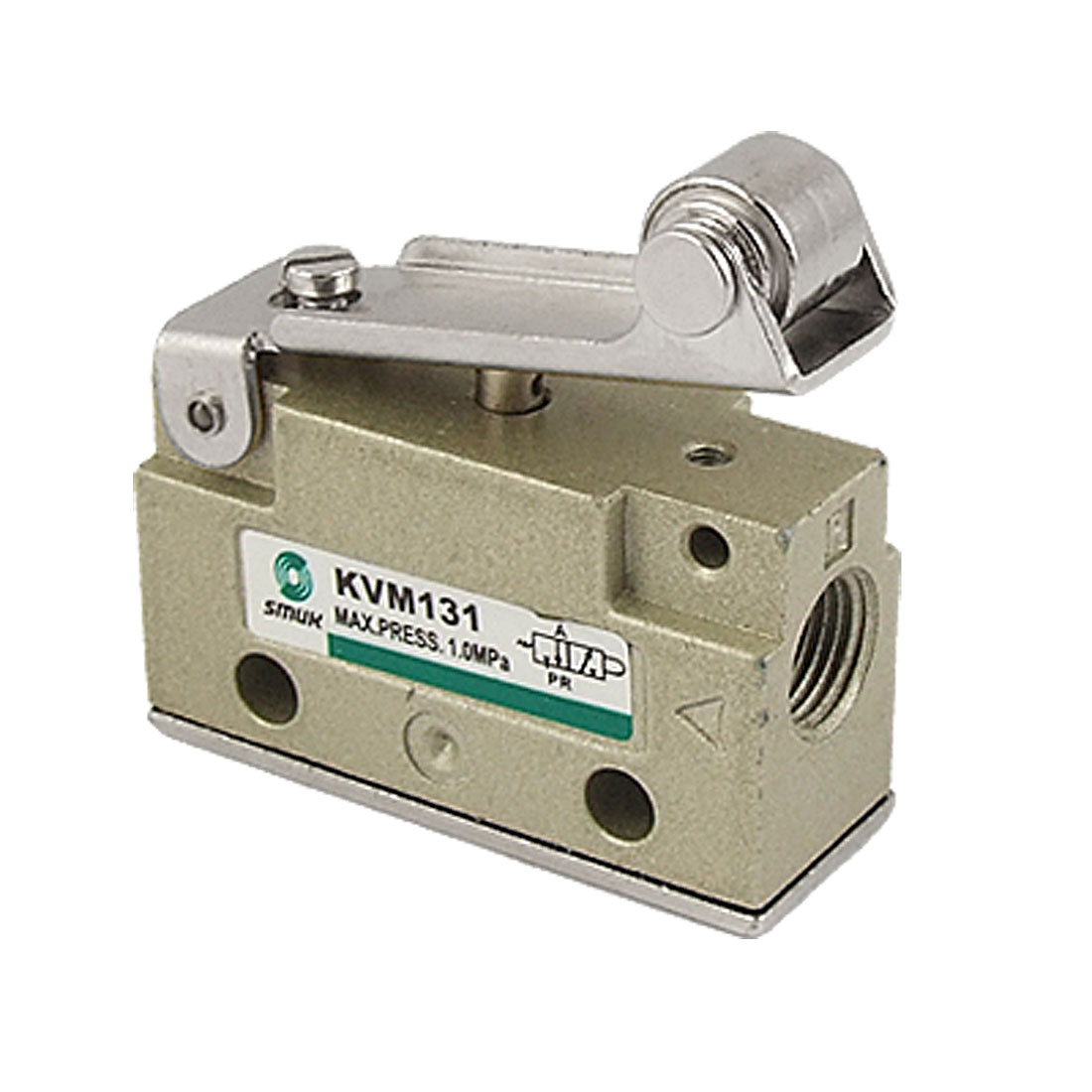 VM131-01-01 2 Position 3 Way Roller Lever Mechanical Valve