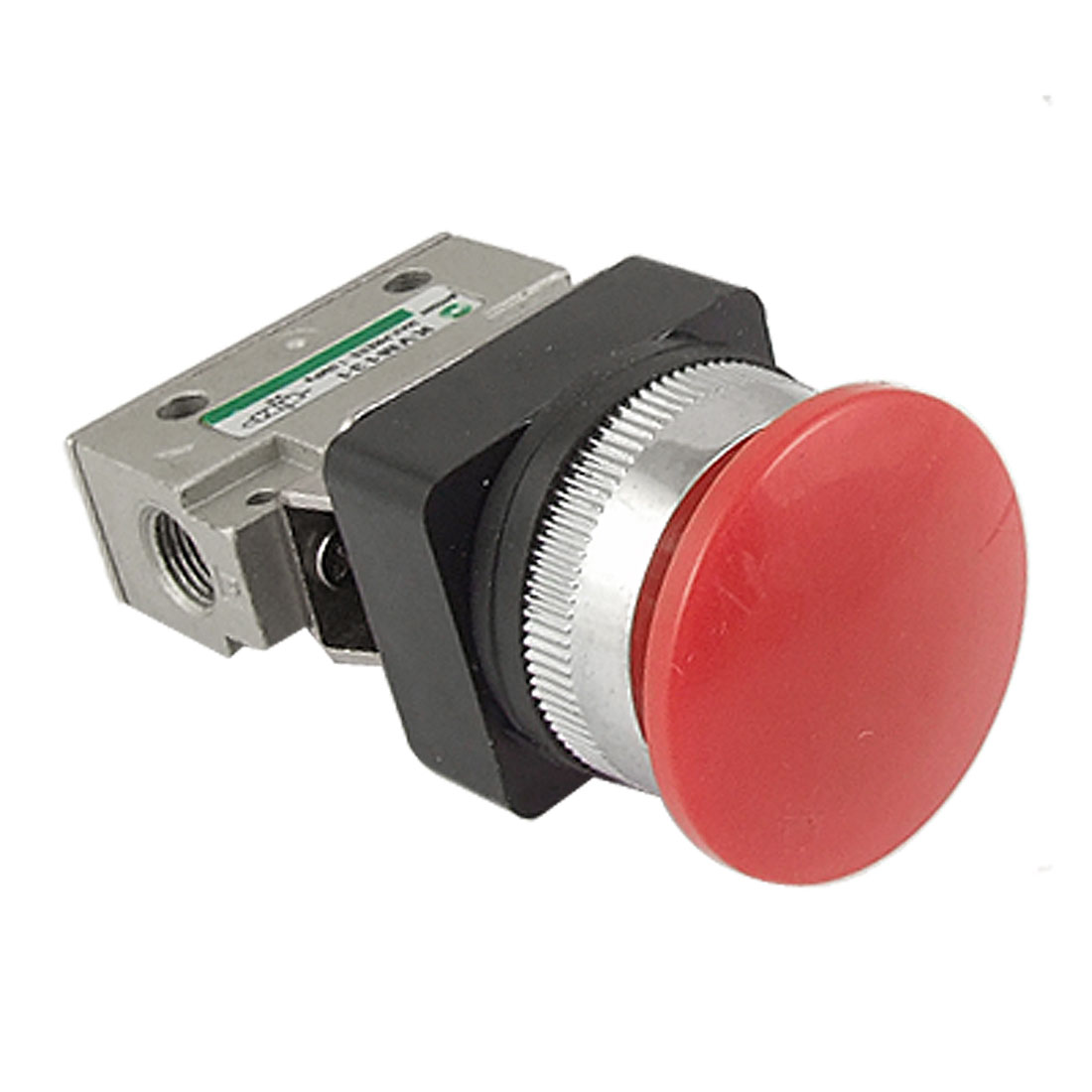 KVM131 2 Position 3 Way Mushroom Button Mechanical Valve