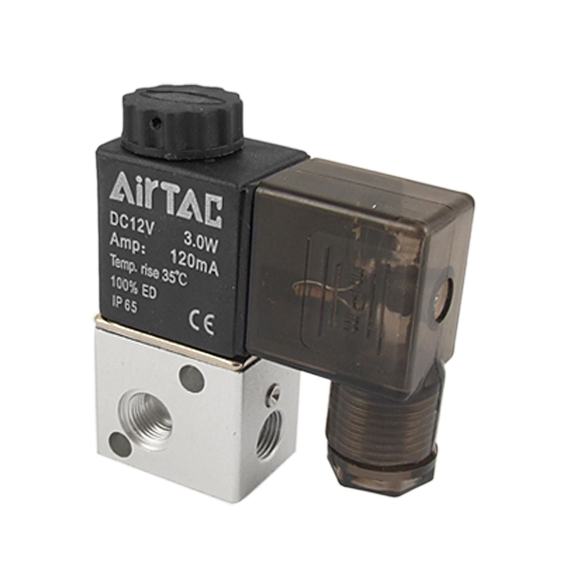 3V1-06 2 Position 3 Way 120mA Pneumatic Solenoid Valve