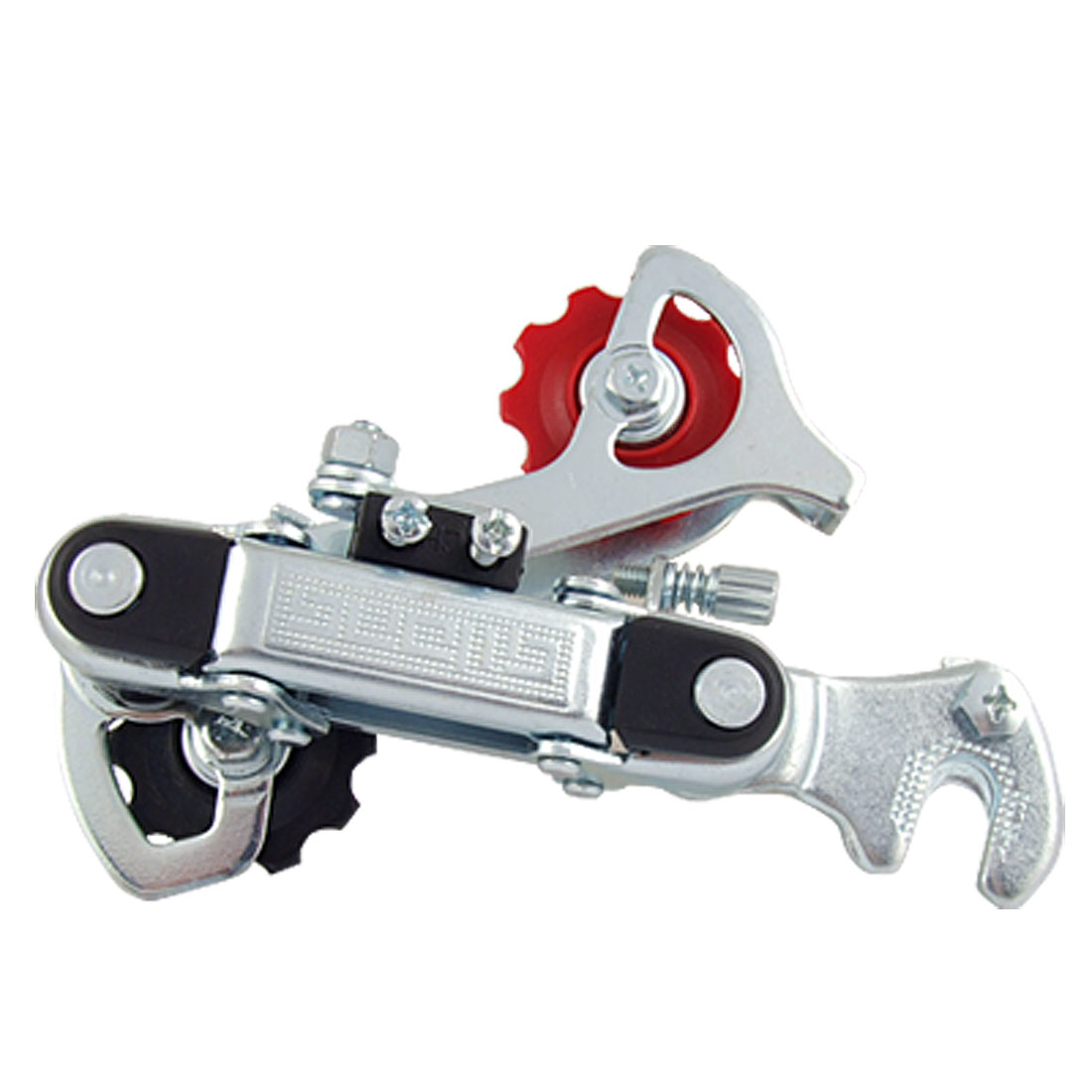 Replacement Part Silver Tone Rear Derailleur for Bike Bicycle