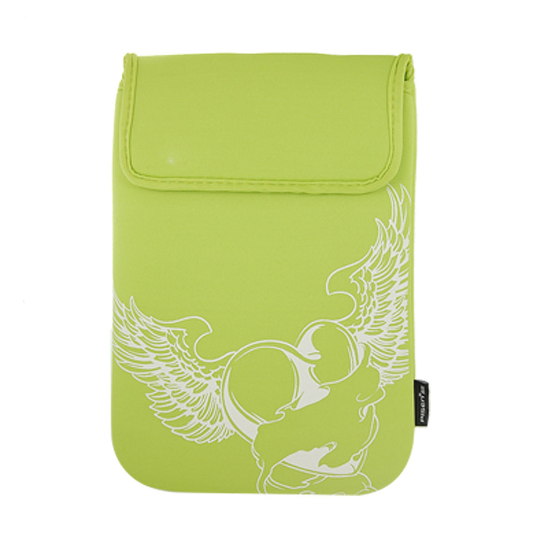 "10"" 10.1"" 10.2"" Green Flying Heart Neoprene Sleeve Bag"