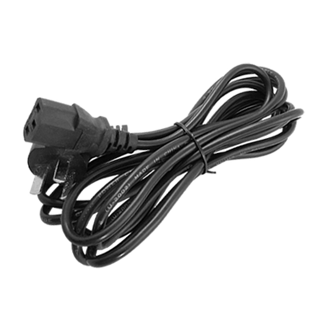 AU Plug 3 Meters Black 250V 10A PC Monitor Power Cable