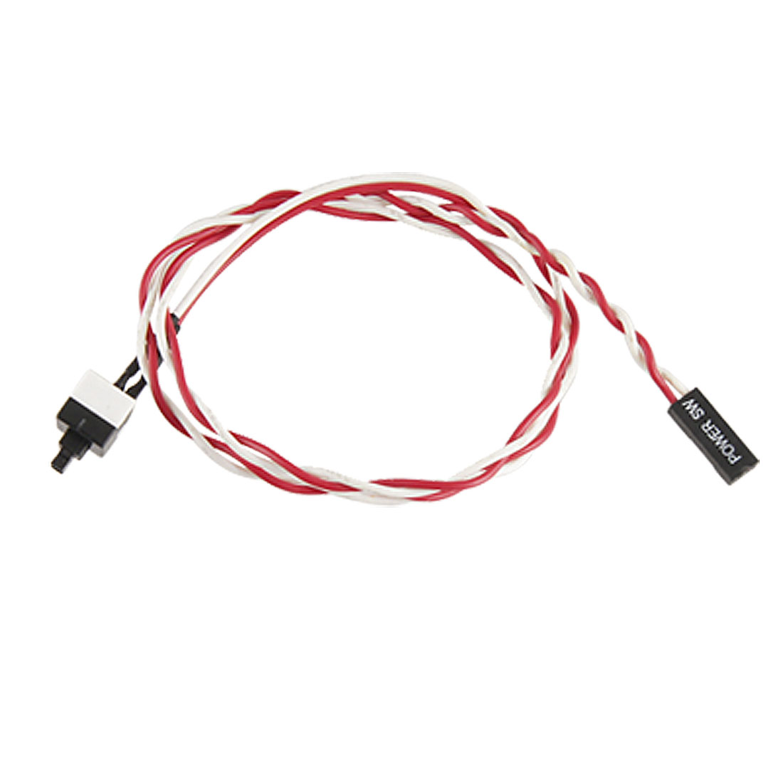 Household Office PC ATX Power On Supply Reset Switch Connector Cable