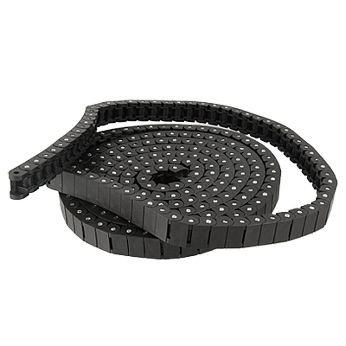 3 Meters Long Plastic 12.7mm Pitch Transmission Roller Chain Black