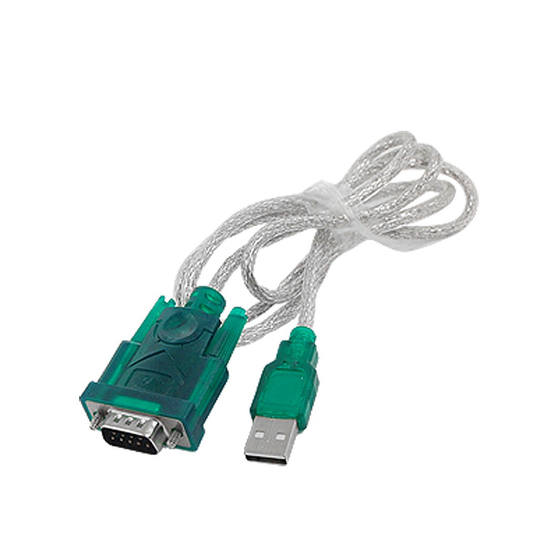 PDA USB 2.0 to DB9 DB25 Serial 9 Pin RS232 Adapter Cable Green