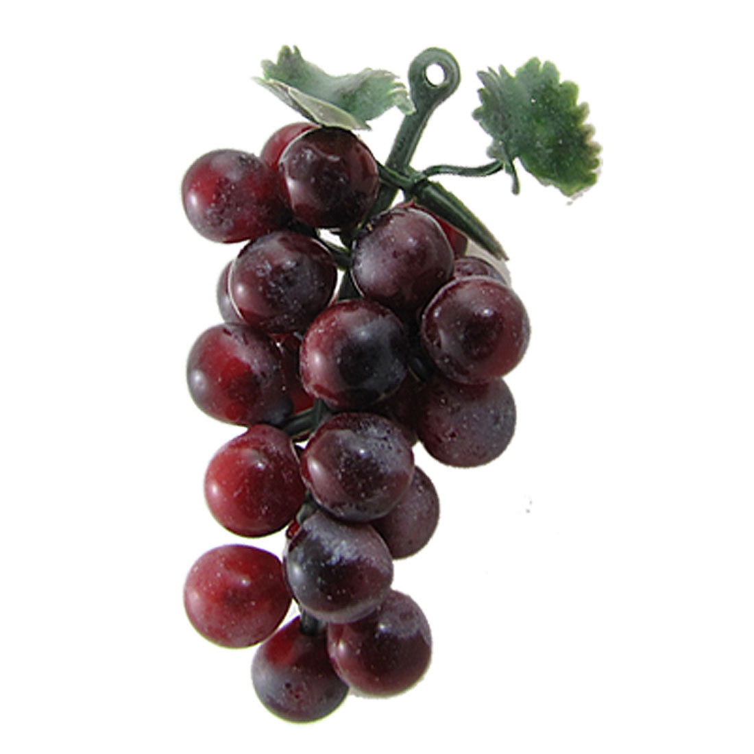 Soft Plastic Bunch Grapes Faux Fruit Home Decoration