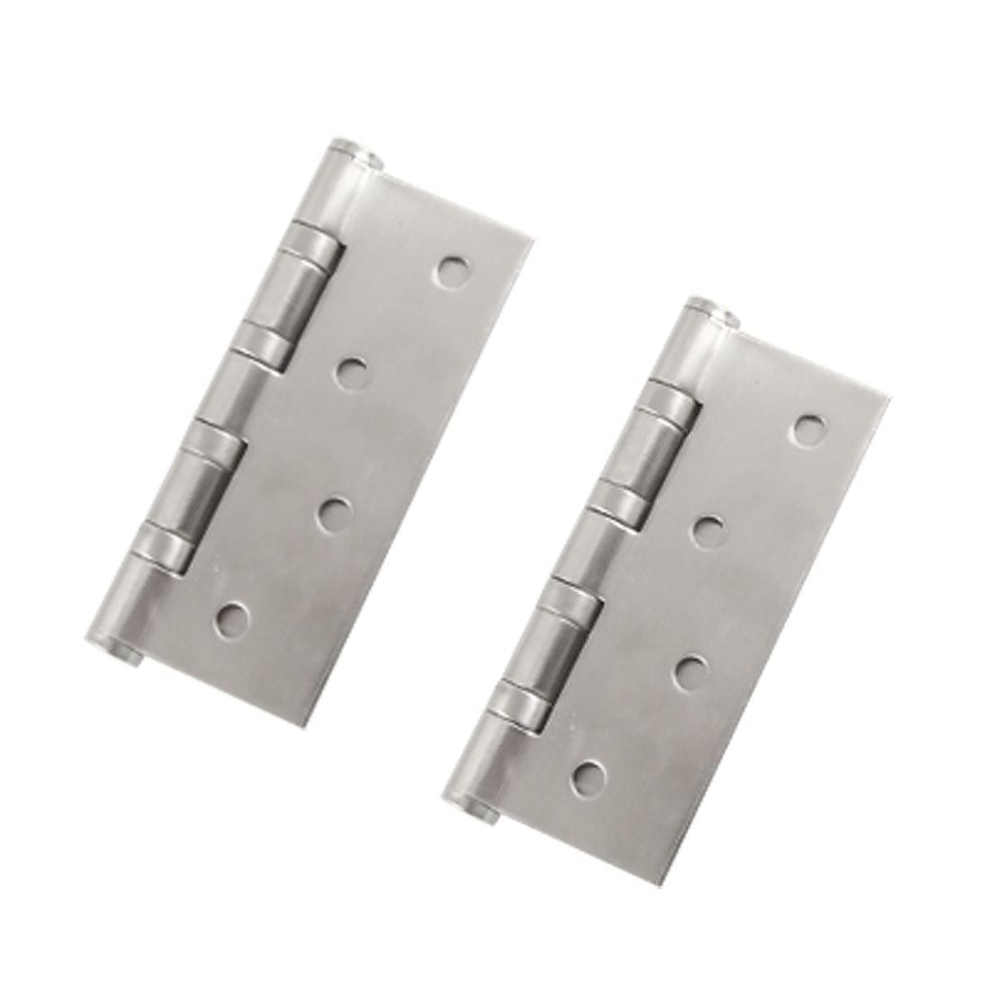 "2 Pcs 4"" Satin Nickel Cupboard Door Hinge w Screw Hardware"