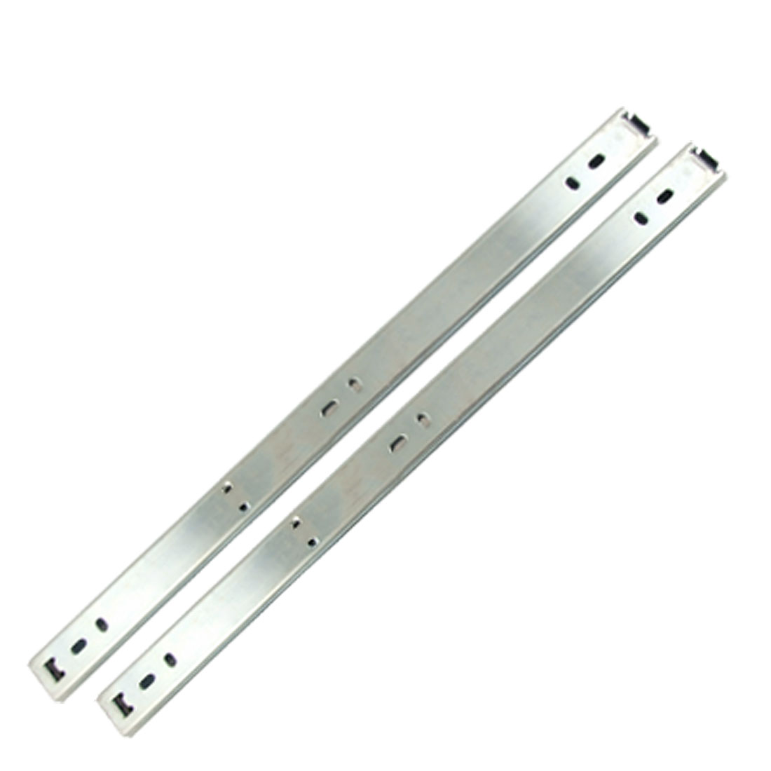 "Drawer Hardware 15"" 2-Fold Metal Ball Bearing Slides Pair"