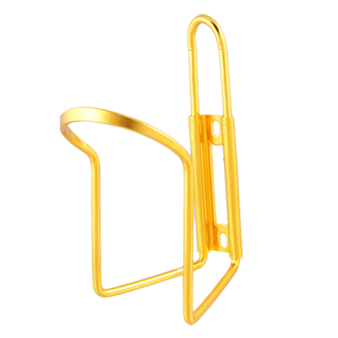 Gold Tone Plated Aluminum Alloy Bracket Bottle Holder for Bike Bicycle
