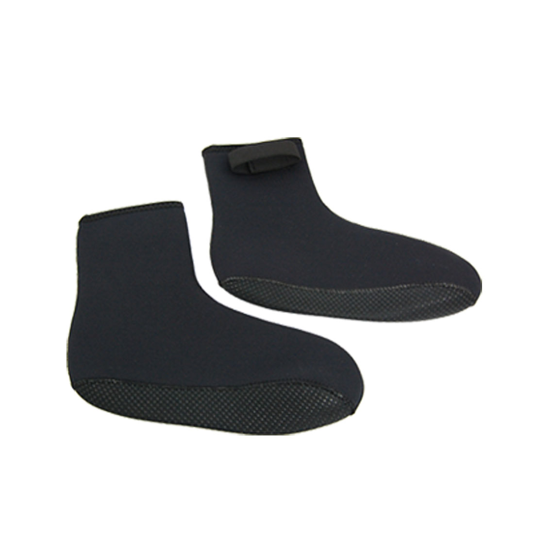1 Pair Black Elastic Neoprene Diving Boots Diver Socks Boots