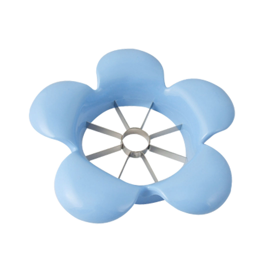 Stainless Steel Blue Flower Design Apple Slicer