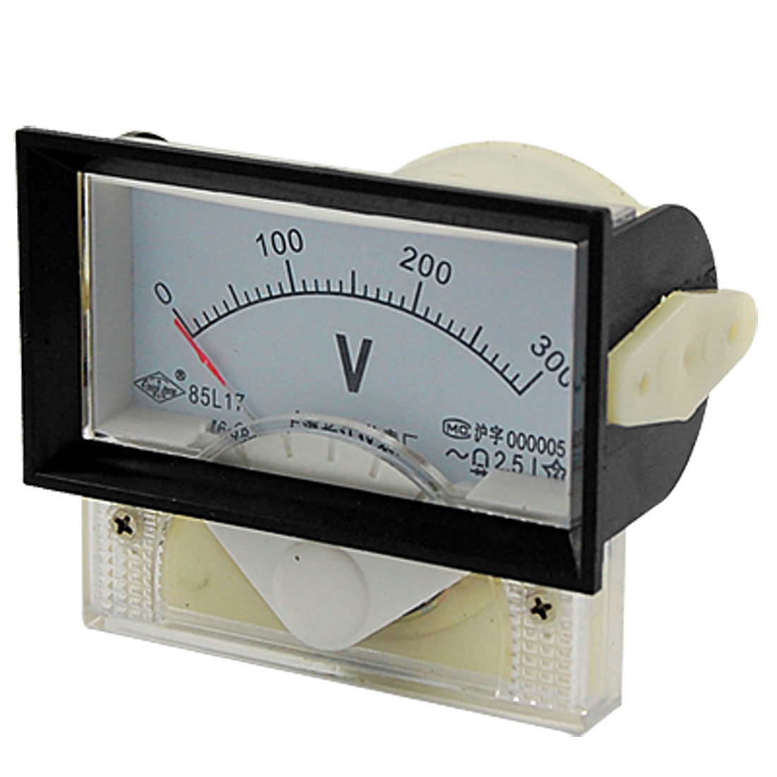 85L17 AC 0-300V Rectangle Analog Voltmeter Panel Meter Gauge