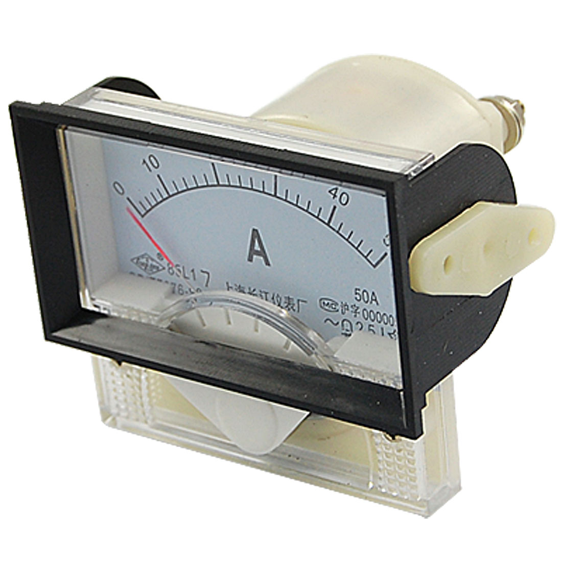 85L17 Class 2.5 Accuracy AC 0-50A Analog Panel Meter Ammeter