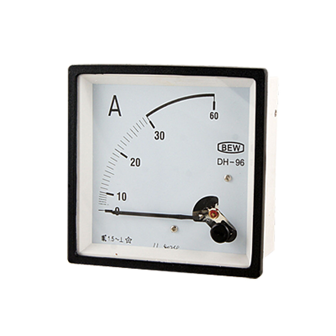 DH-96 AC 0-30A Square Analog Current Panel Ammeter Gauge