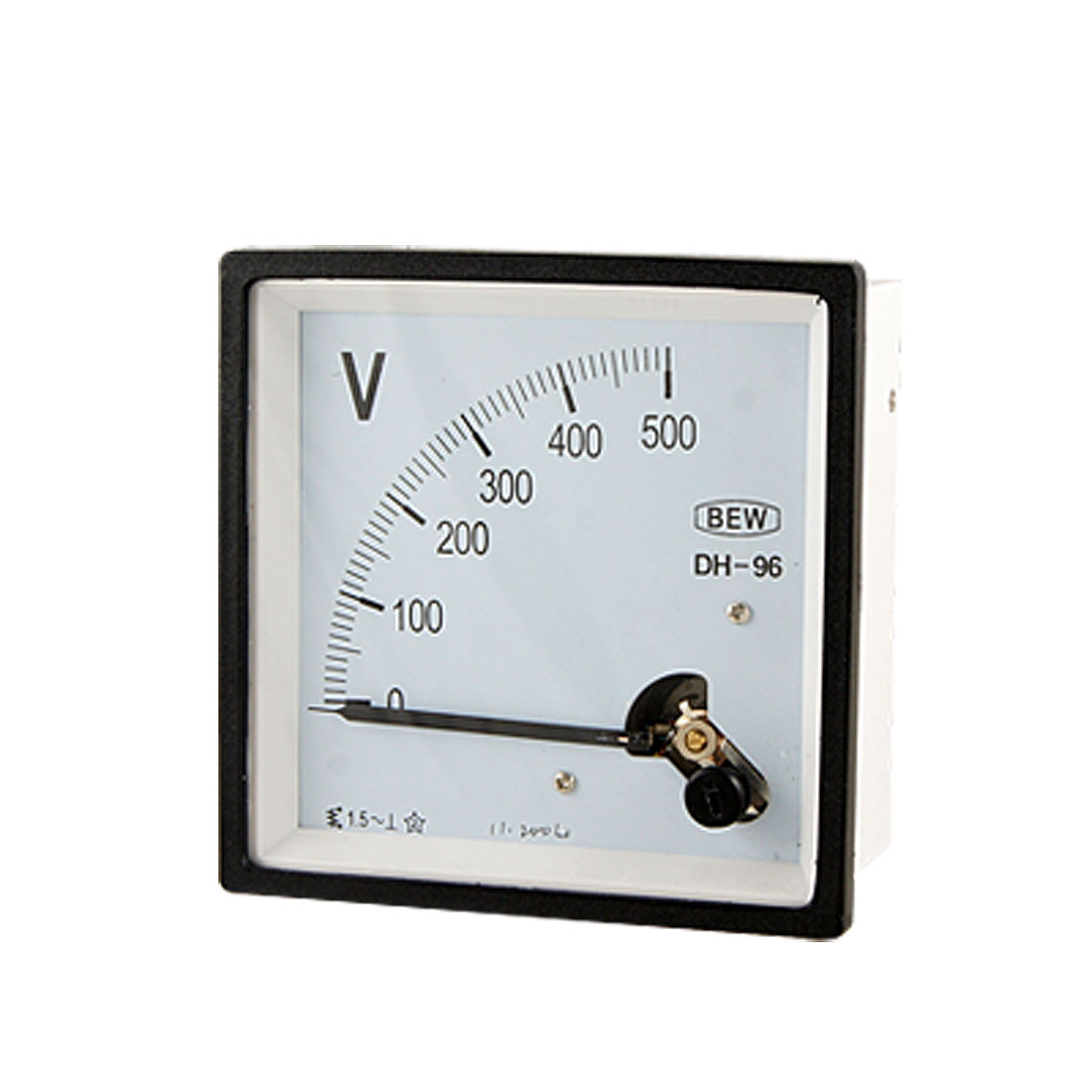 Class 1.5 Accuracy AC 500V Analog Voltage Panel Meter