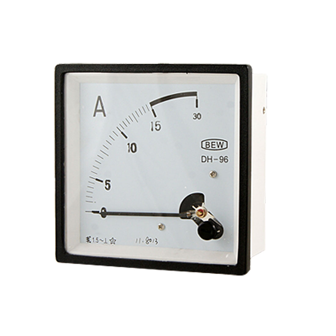 Square Analog Current Meter Ammeter Gauge AC 0-15A