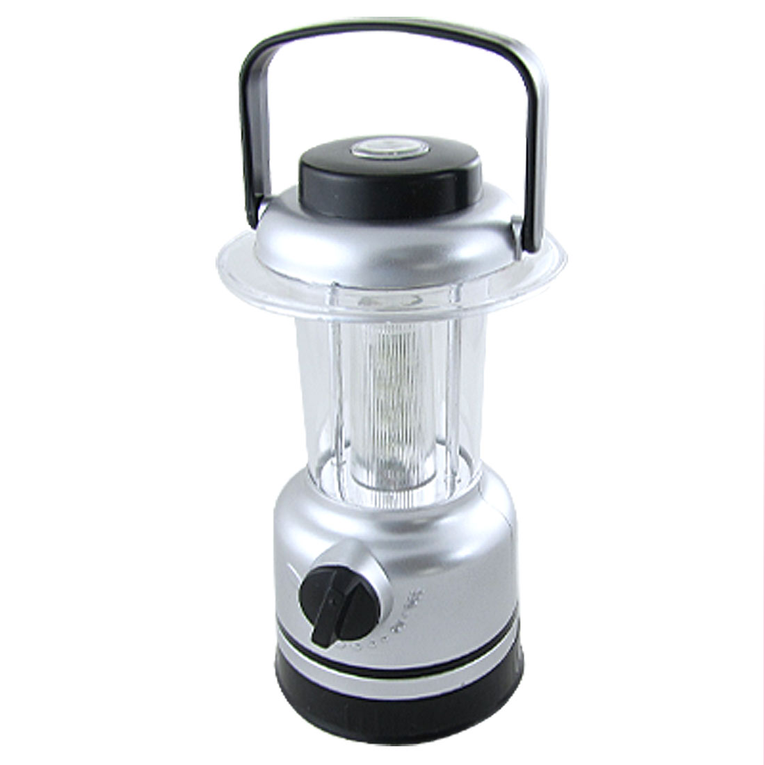 Outdoor Hiking Camping White LED Adjustable Lantern Light w Compass