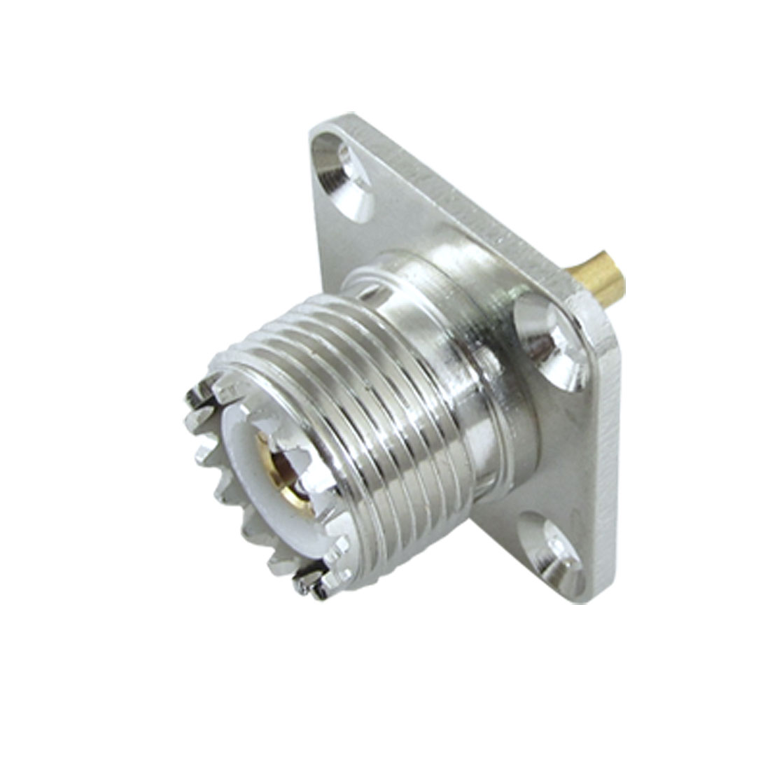UHF Female Jack SO-239 Panel Chassis Mount Solder Cup RF Coaxial Connector