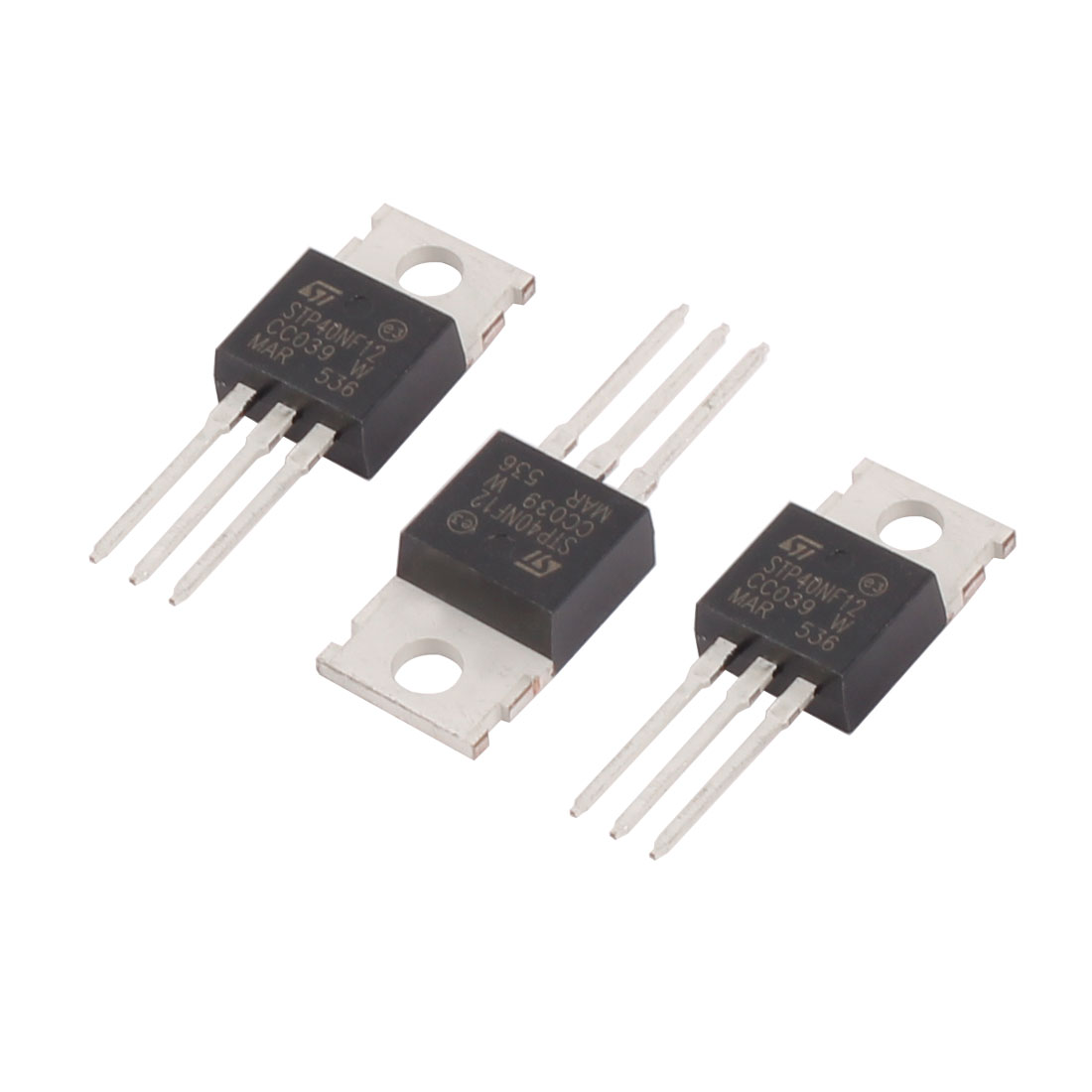 3 Pcs 40A 120V STP40NF12 N-Channel Power MOSFET TO-220