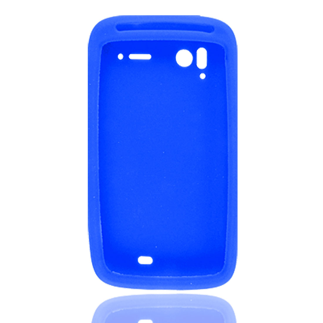 Royal Blue Silicone Skin Cover for HTC Sensation Pyramid