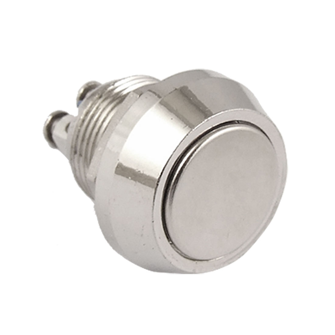 DC 36V 2A 12mm Metal Flat Head Round Momentary Push Button Switch