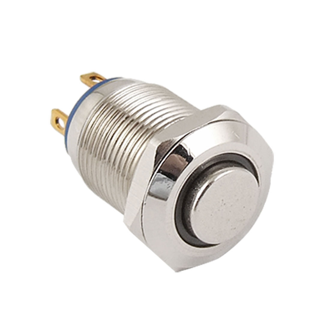 Blue Led Light OFF-(ON) NO 3V 12mm stainless Steel Momentary Push Button Switch