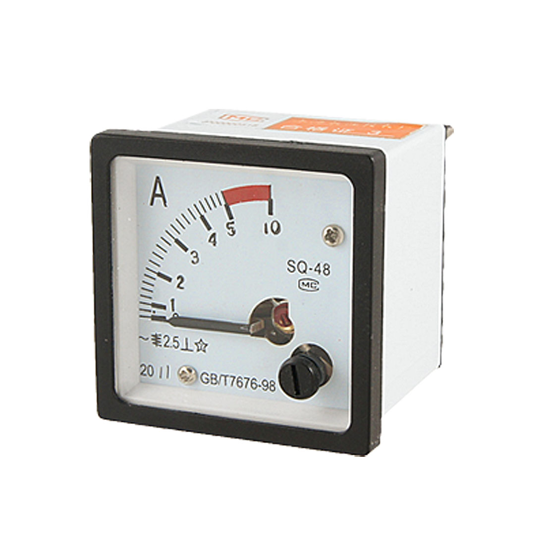 Classic 2.5 Accuracy 0-5A AC Current Panel Meter Amperemeter Gauge SQ48