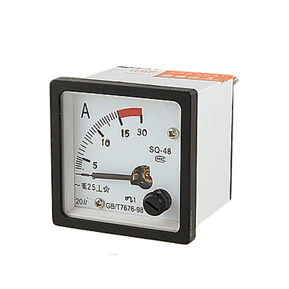 Analogue AC 0-15A Current Panel Meter Amperemeter Gauge SQ48