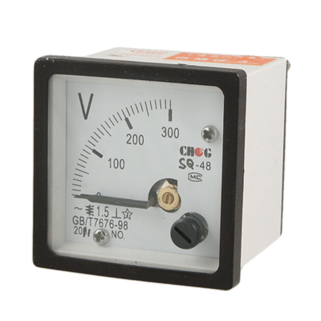 SQ48 Type 0-300V AC Voltage Measuring Square Panel Voltmeter Gauge