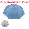 "27.2"" Dia Elastic Head Band Umbrella Hat for Fishing"