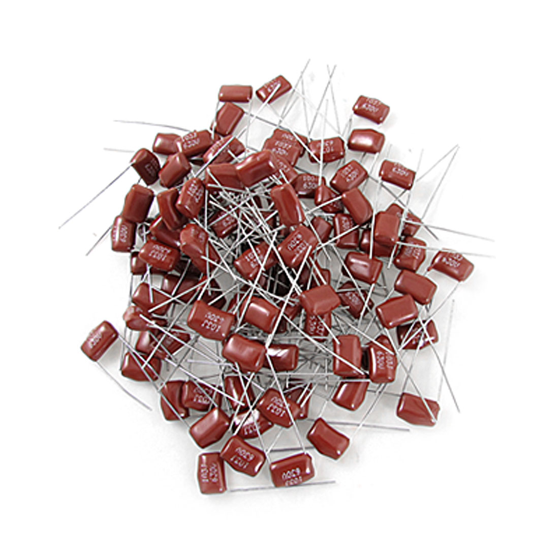 100 Pcs 0.01uF 630V Metallized Mylar Polyester Film Capacitor
