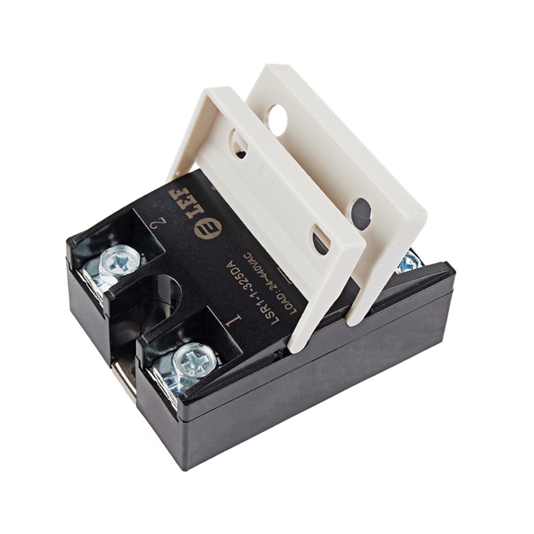 LSR1-1-325DA 25A Solid State Relay Module 3-32V DC / 24-440V AC + Heat Sink