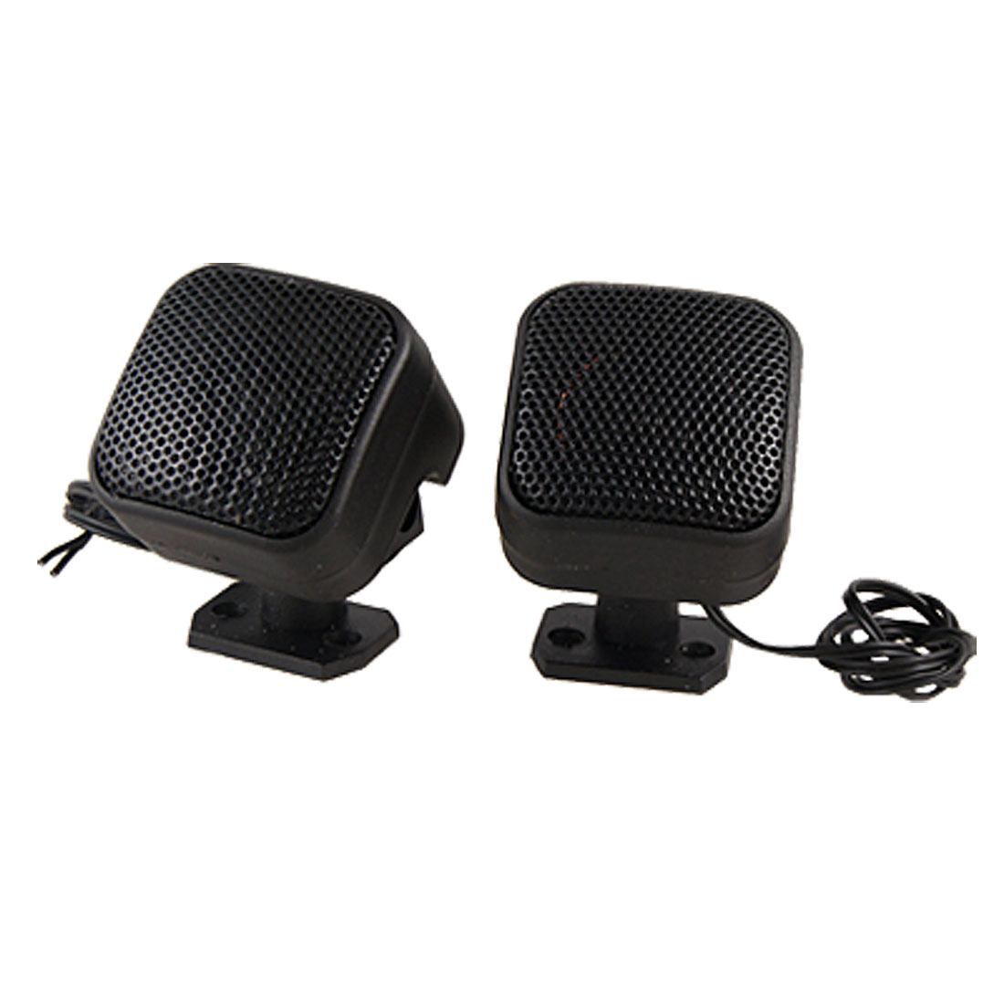 Auto Car Cubic Tweeters Audio Speakers Black 100-150 Watt