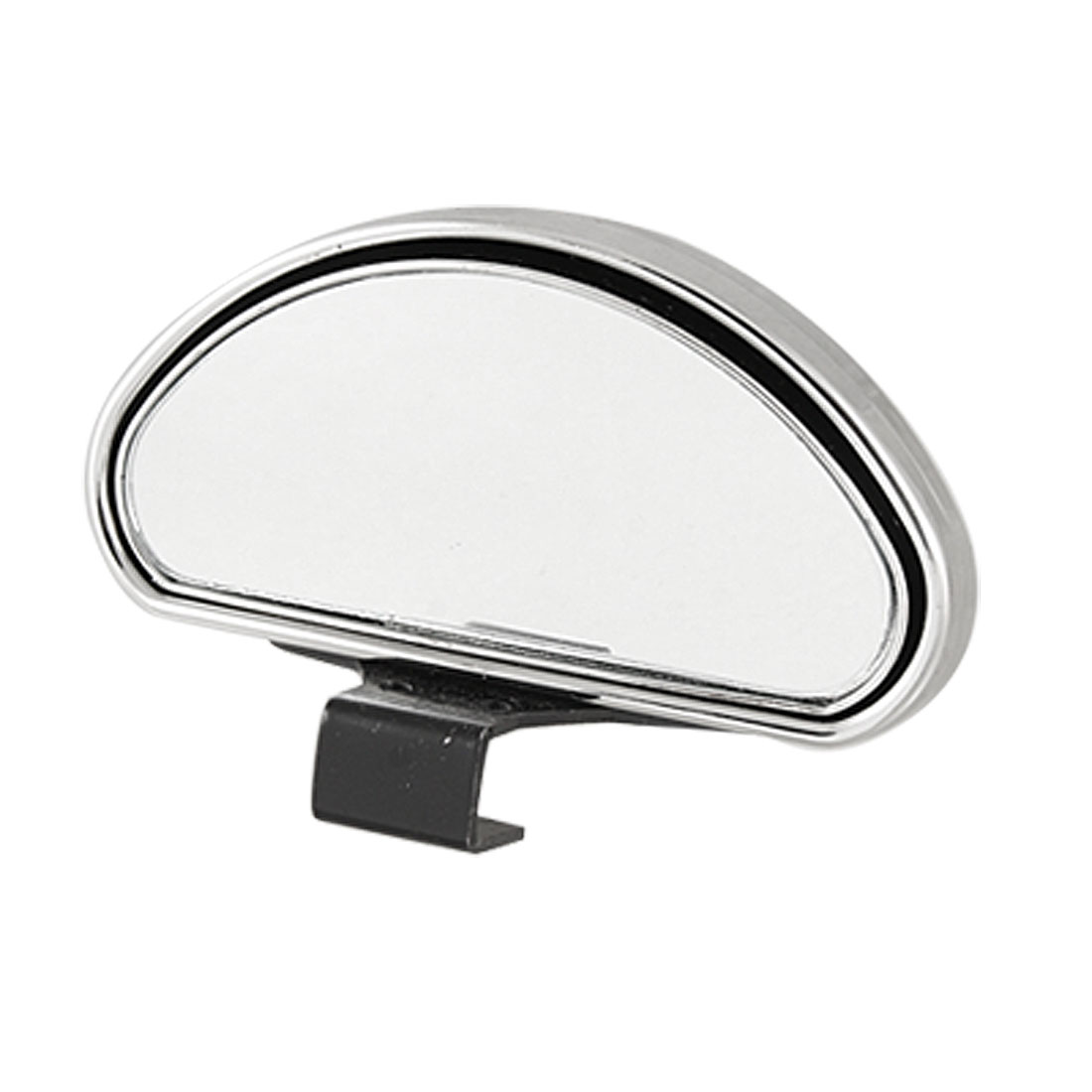 Chrome Plastic Housing Car Wide Angle Side View Blind Spot Mirror