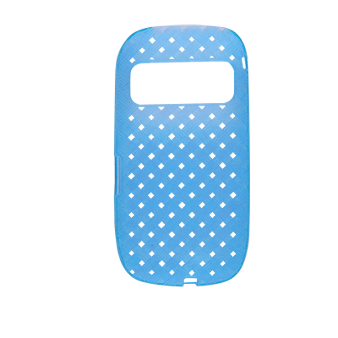 Blue Perforated Holes Soft Plastic Pattern Cover Shell for Nokia C7
