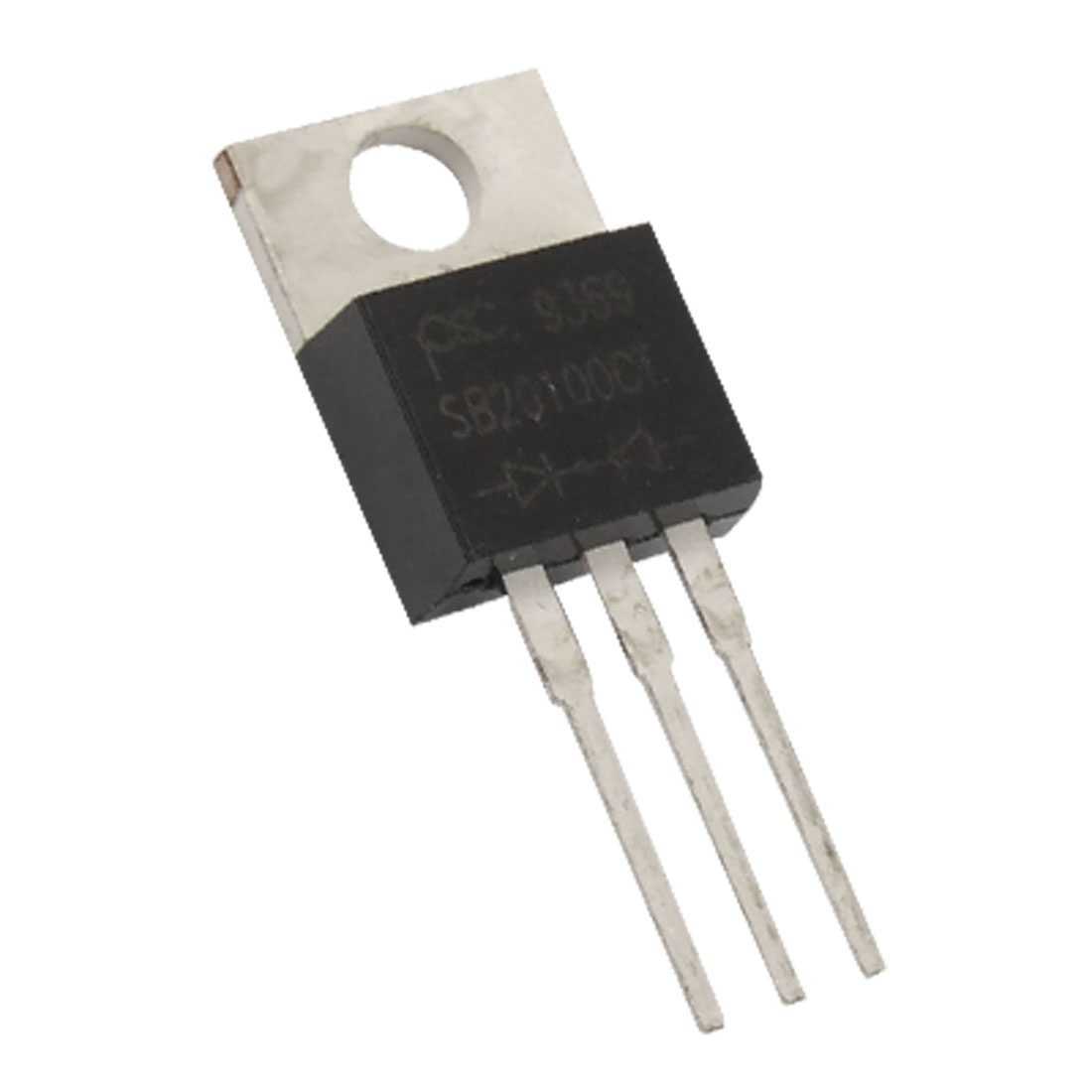 SB20100CT 20A 100V Schottky Barrier Rectifier TO-220AB