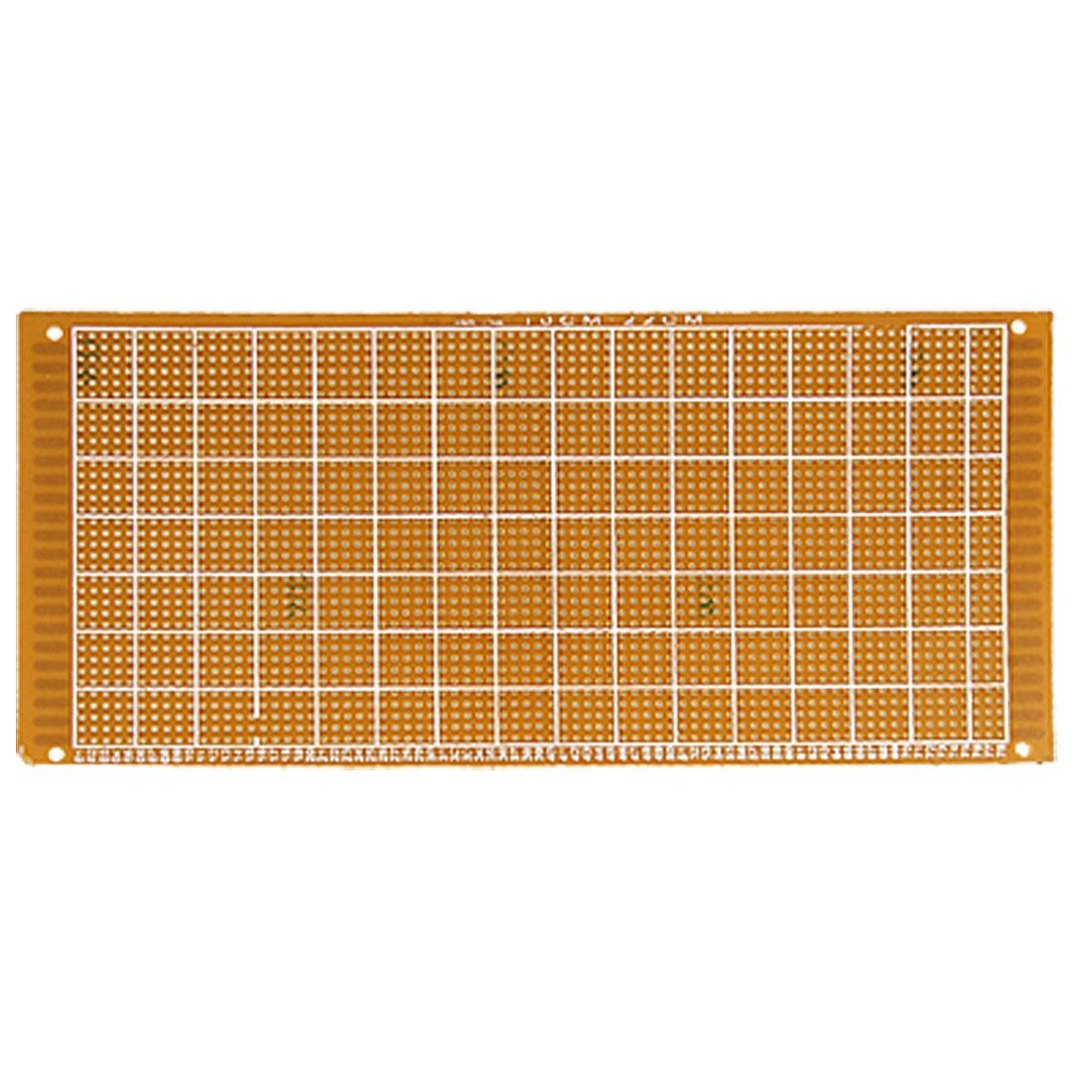 10cm x 22cm Panel Universal Single Side Copper PCB Board