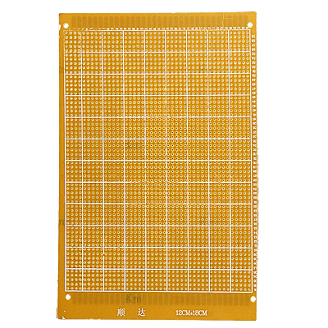 Single Side Copper Panel Prototype PCB Board 12 x 18cm