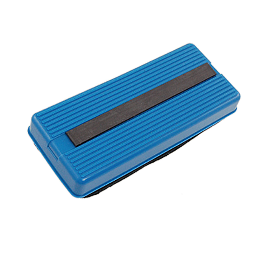 Plastic Frame Fabric Rectangle Grip Blackboard Chalkboard Eraser Blue