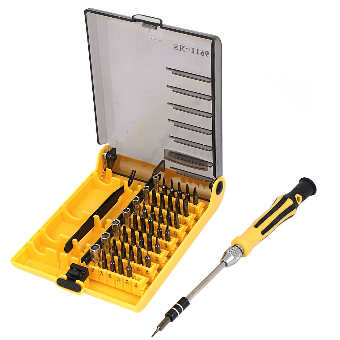 Electronic 45 in 1 Hex Socket Bit Screwdriver Bits Tool